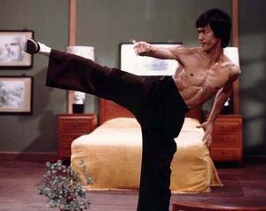 Bruce Lee's side kick form