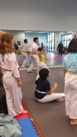 Beginner Belt Taekwondo class at Integrity Martial Arts