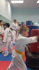 Integrity Martial Arts Tae Kwon Do belt test
