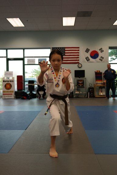 IMA July Taekwondo Belt Test
