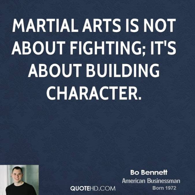TaeKwonDo Martial Arts is about building character