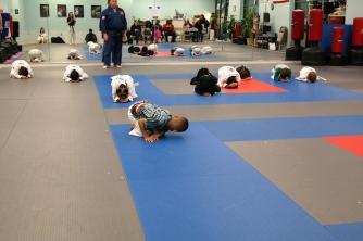 Integrity Martial Arts Little Tigers Taekwondo program.