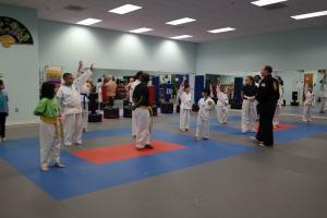 January 2017 Integrity Martial Arts Tae Kwon Do Belt Test
