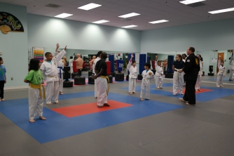January 2017 Integrity Martial Arts Tae Kwon Do Belt Test