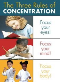 3 rules of concentration pic