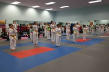 Integrity Martial Arts belt test Jan 2018