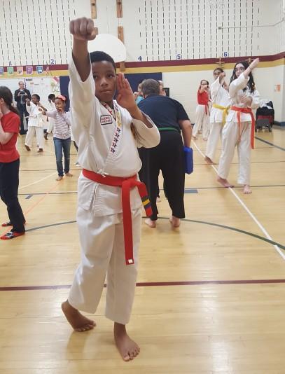 Integrity Martial Arts Demo at Bollman Bridge