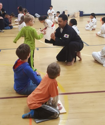 Integrity Martial Arts Demo at Bollman Bridge