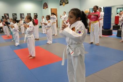 integrity martial arts 2018 sept. belt test