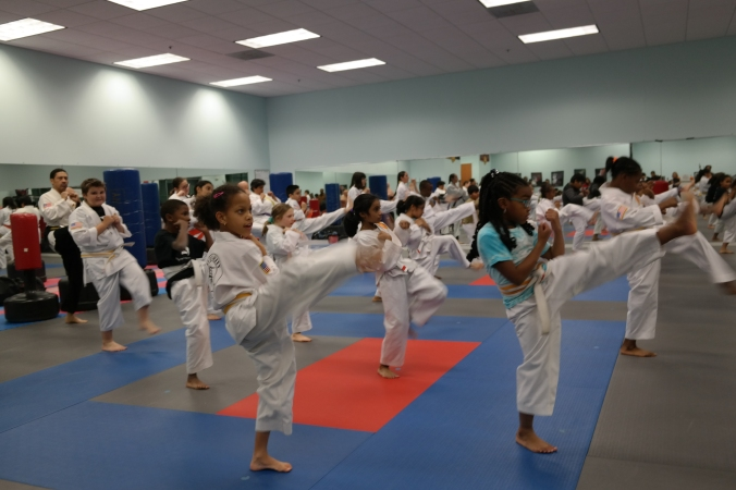 Integrity Martial Arts November 2018 Taekwondo Belt Test